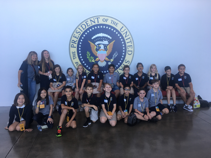 Ronald Reagan Library 5th grade field trip