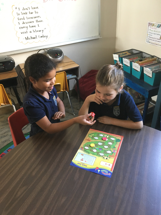 Partner math game