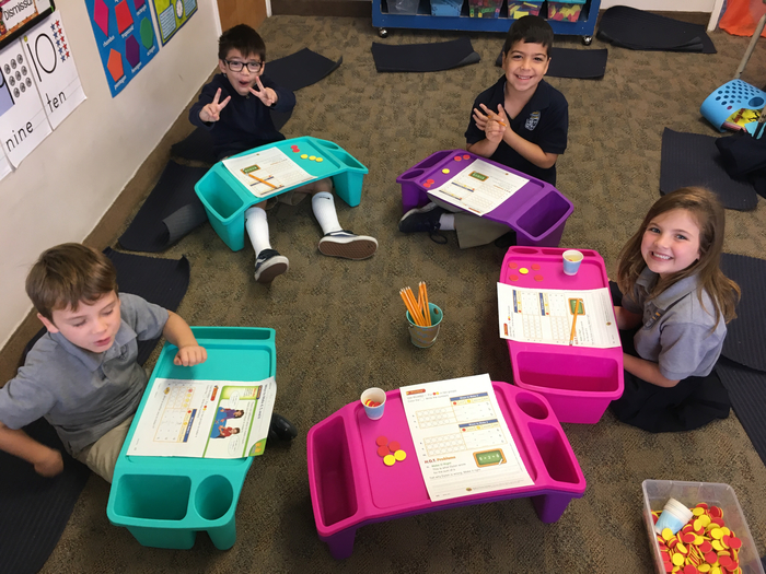 Lap desk math groups 1