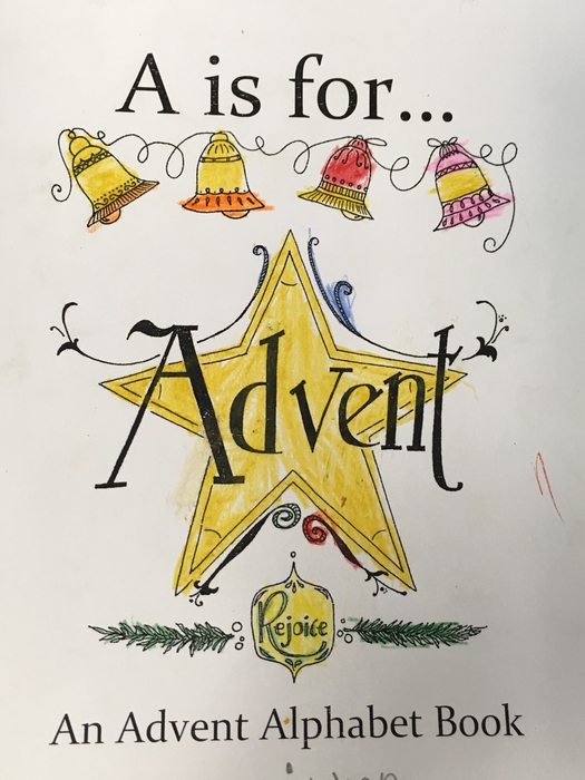Advent Alphabet book