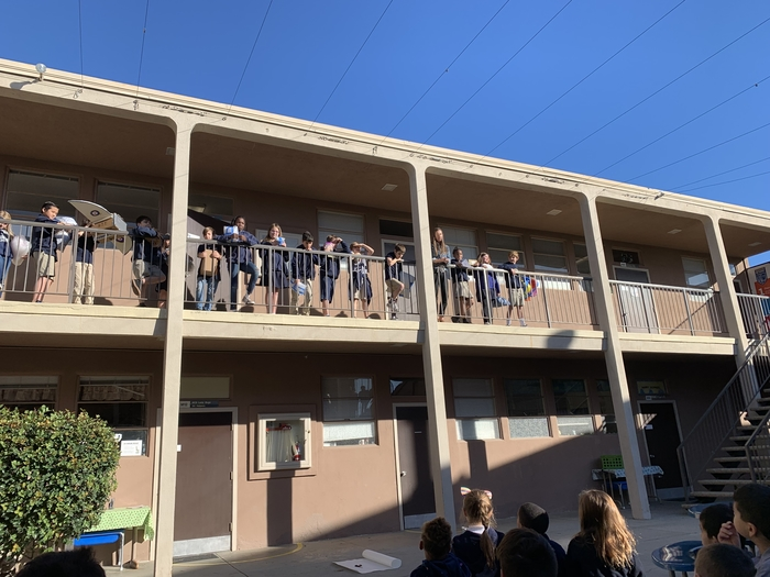 4th Grade's Annual Egg Drop