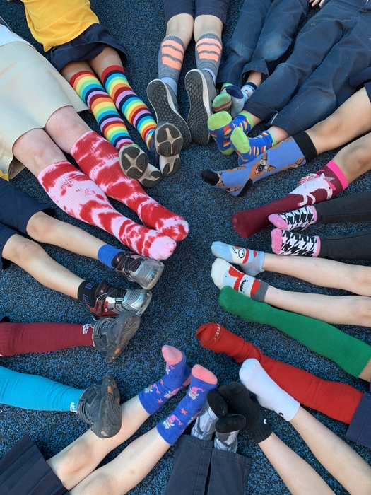 Crazy Sock Day!