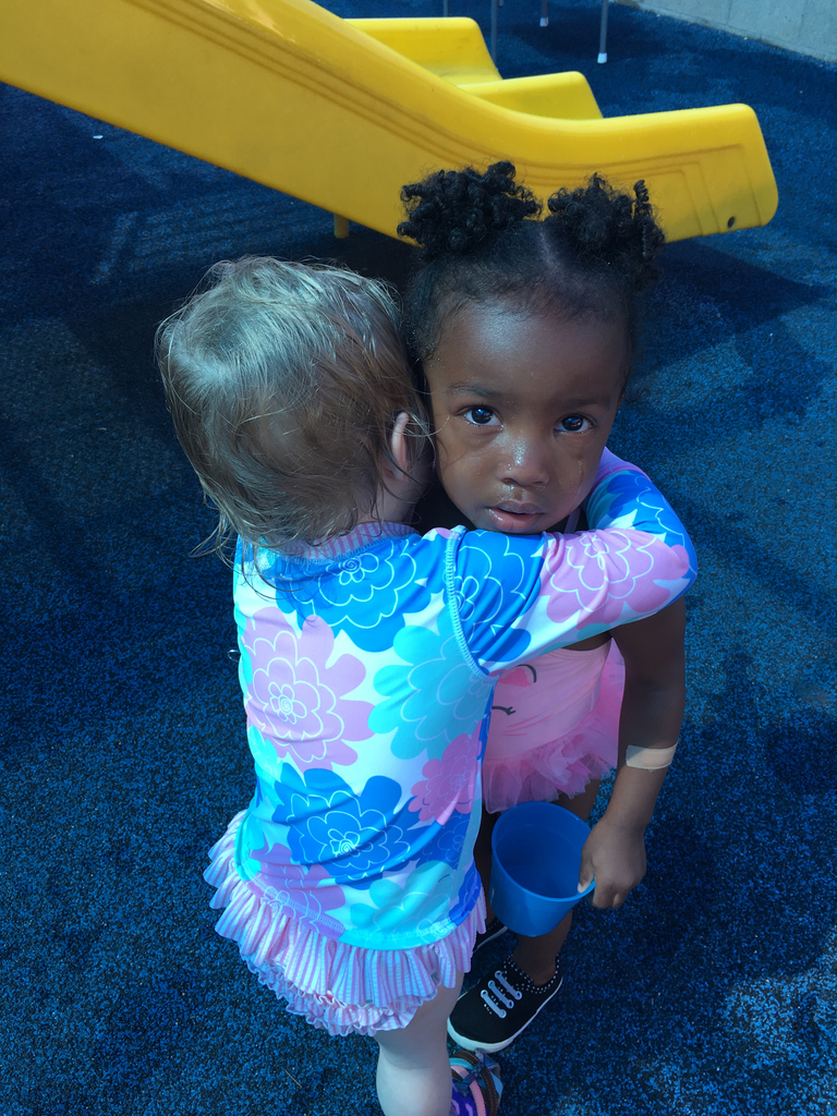 Even our littlest ones practice conflict resolutions!