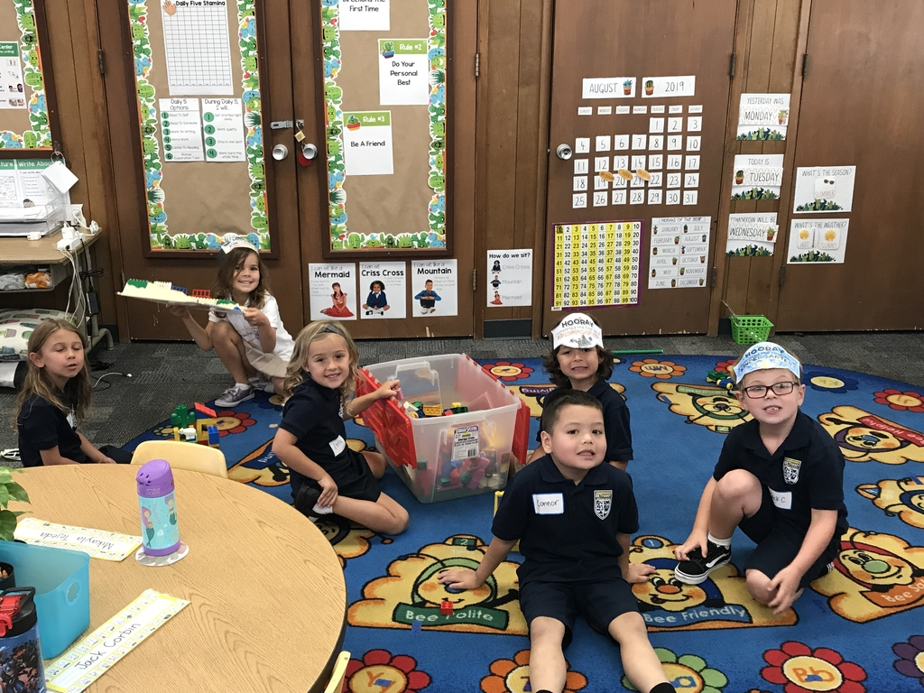 We had a blast in Kindergarten today!