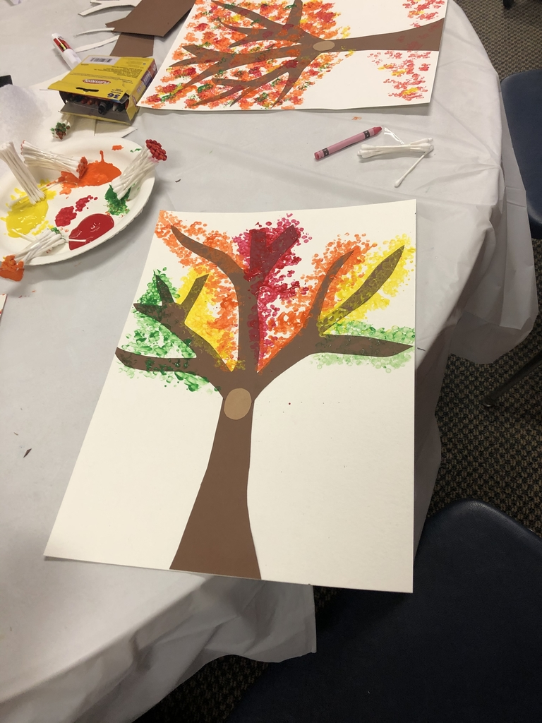 Beautiful Fall Tree painting