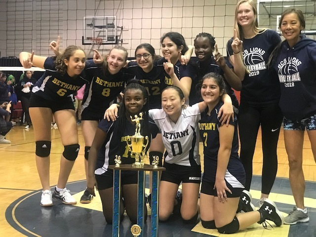 2019 Foothill League Volleyball Champs-Bethany Christian School, Sierra Madre