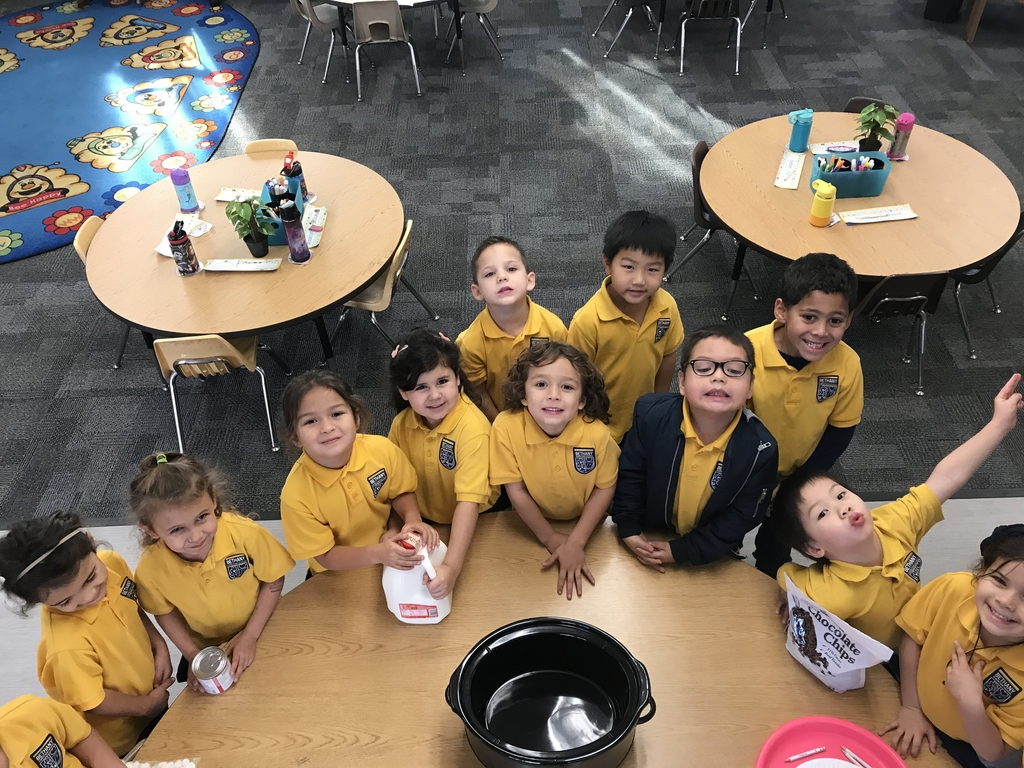 In Kindergarten, we have been reading the Polar Express every day. After we learned different vocabulary and various story elements, we celebrated by making hot chocolate in a crockpot! #christmas #bethanylions #hotchocolate #polarexpress