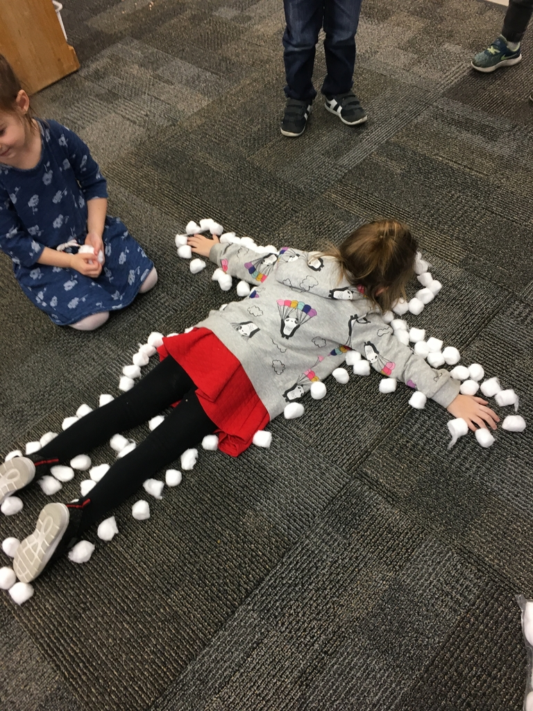 CA snow angels #bethanylions #preschool